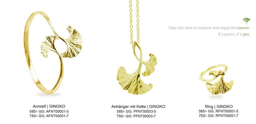 Serie - GINGKO (Gold)