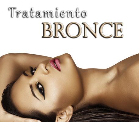 Tratamiento bronce para cartucheras femeninas