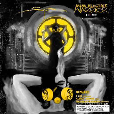 Miss Electric - Warrior EP - Home Recordings