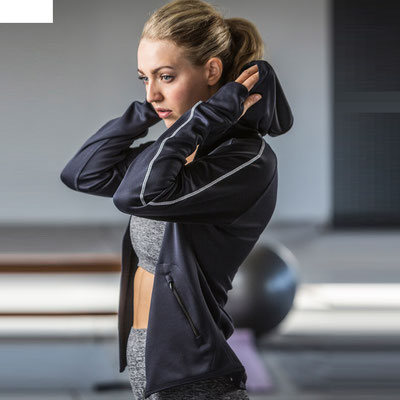 Women's Active Sports Running Hoodies