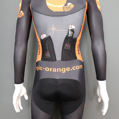 Custom Supersuits - Aero rear pockets, ideal for gels
