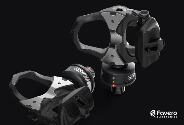 Assioma Duo Power Meter Pedals with Black cosmetic update