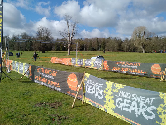 Airflow fence scrim banners