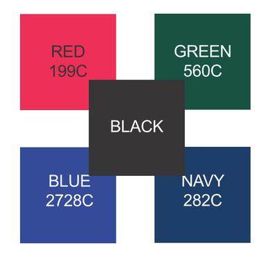 Base Lycra colours for superior longevity