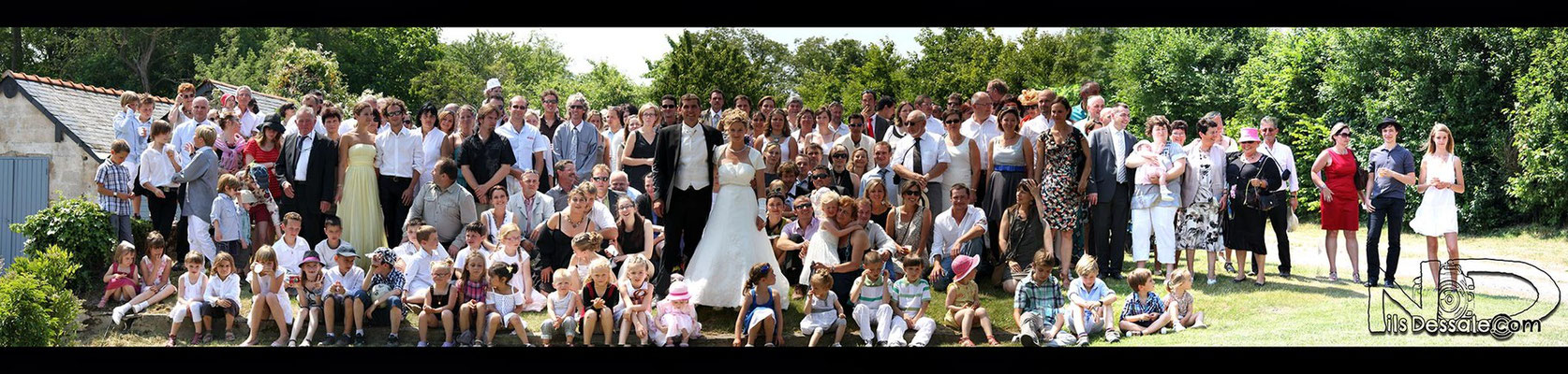 Photographe mariage-Photo de groupe