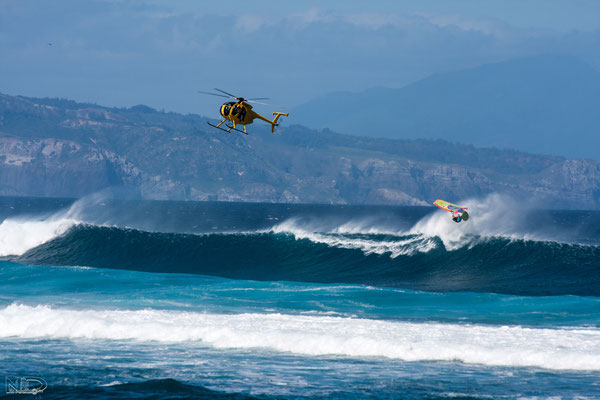 Aerial jason polakow lanes  PWA wave world champion