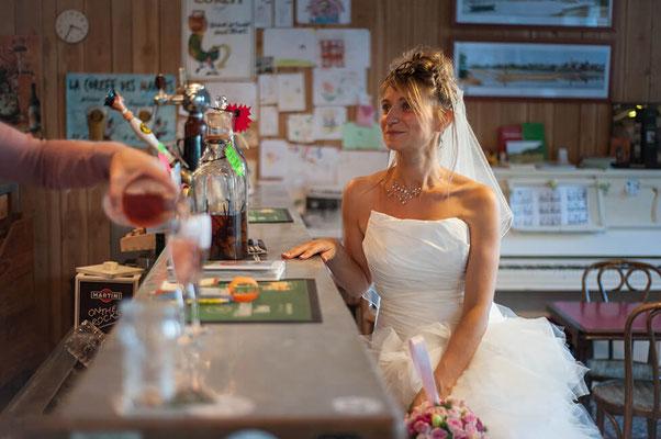 Portrait avant la cérémonie de mariage - Reportage de mariage / Before the wedding ceremony - Wedding Photos