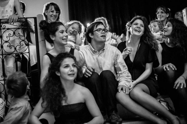 Joie partagée au mariage - Reportage de mariage / Happiness together - Wedding Photos