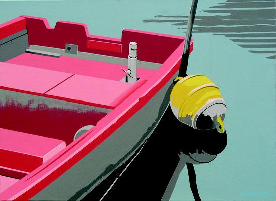 Bord de Maine. Acrylique sur toile. Collection privée