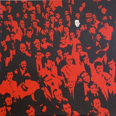 Patron géré dans le syndicalisme. Acrylique sur toile. Collection privée.