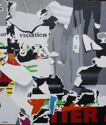 Oslo 3. Acrylique sur toile. Acrylique sur toile.