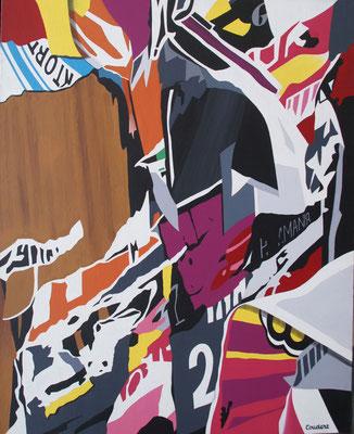 Oslo 02. Acrylique sur toile. 73 x 92 cm.