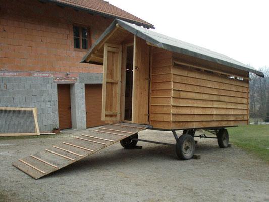 Unser Mobiler Schafstall,.....