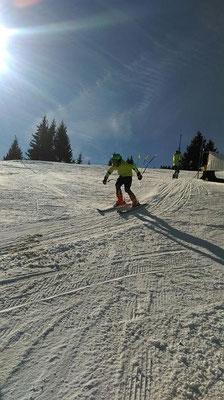 Renntraining Skiteam Heufeld 2014.