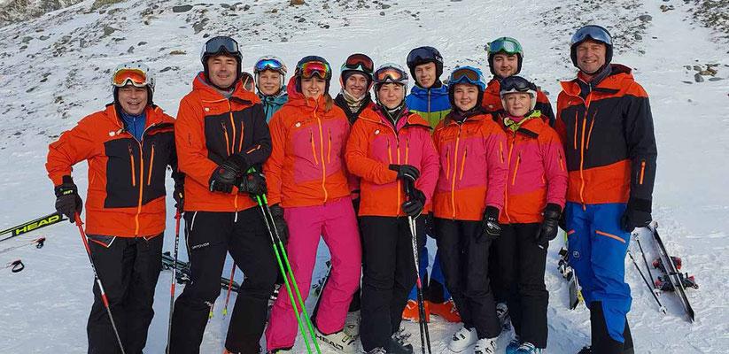 Uebungungsleiter des Skiteam SV DJK Heufeld Fortbildung 2018 beim SV Inngau.