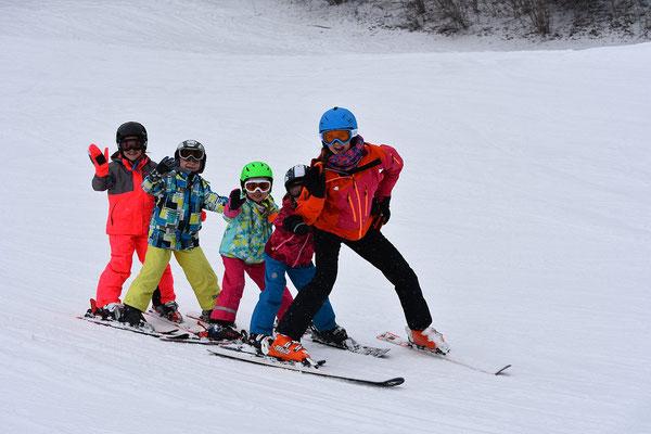 Zwergerlkurs für Kinder ab 4 Jahre beim Skiteam SV DJK Heufeld
