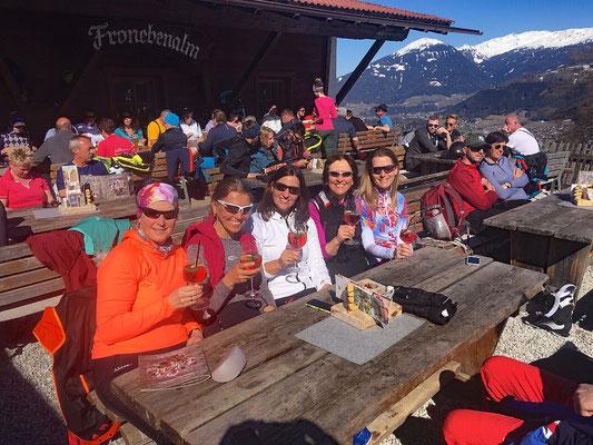 Skiteam SV DJK Heufeld Skiausflug gemütlicher Ausklang mit Schilerol 2019