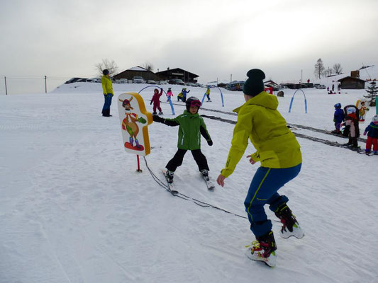 Skilehrer im