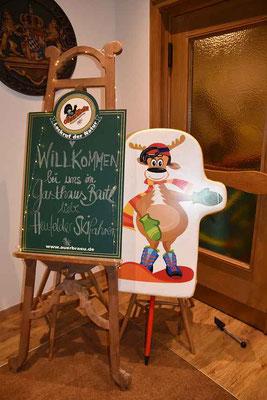 Gefeiert wurde beim Gasthaus Bartl in Högling.