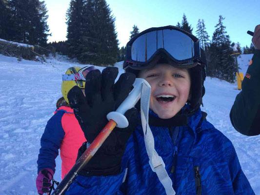Skikurs macht Spaß beim SV DJK Heufeld