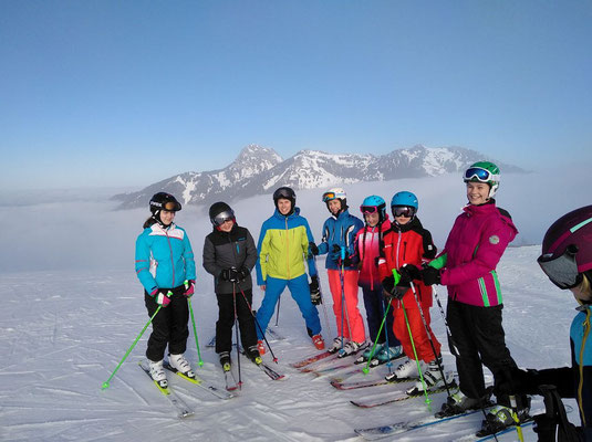 Kinderskikurs im Sudelfeld Skiteam Heufeld 2018.