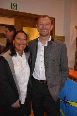 Marianne Ascher auf der 50 Jahrfeier Sparte Ski SV DJK Heufeld