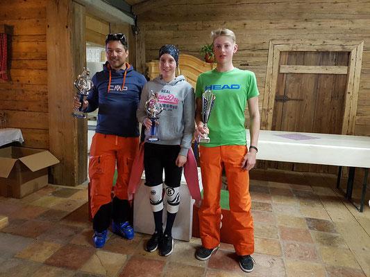 Sieger der Vereinsmeisterschaft des Skiteam SV DJK Heufeld 2018