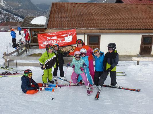 Mit Spaß skifahren lernen. Skikurse des Skiteam Heufeld.