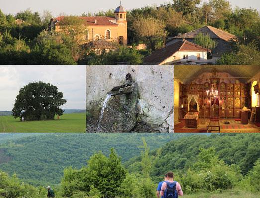 Collage mit Fotos von Braknitsa