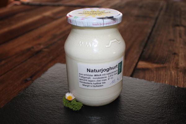 Selbstgemachtes Naturjoghurt