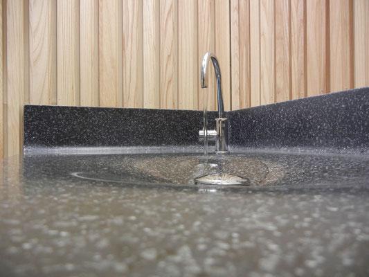 vasque sur mesure en solid surface vkorr thermoformé