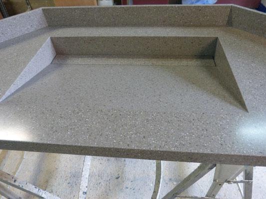 vasque sur mesure en solid surface vkorr vasque JB600