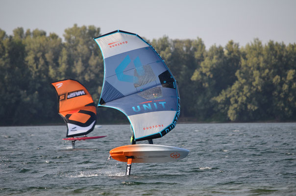 Duotone Unit Wing am Auesee in Wesel