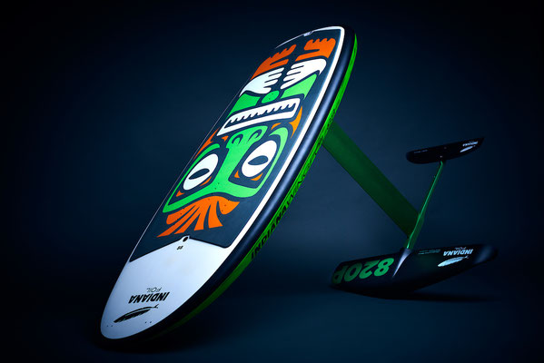 Indiana Carbon 108 Foil Board