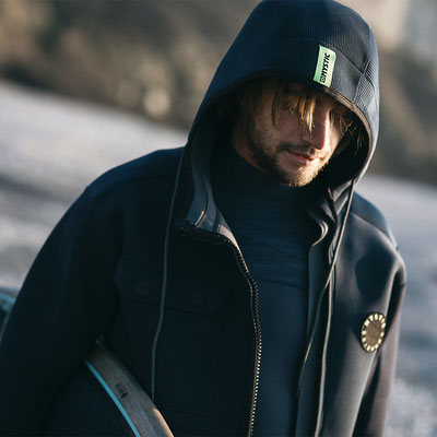 Mystic Ocean Jacket Navy Lime by WindSucht