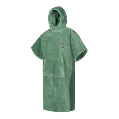 Mystic Teddy Poncho Sea Salt Green 2021