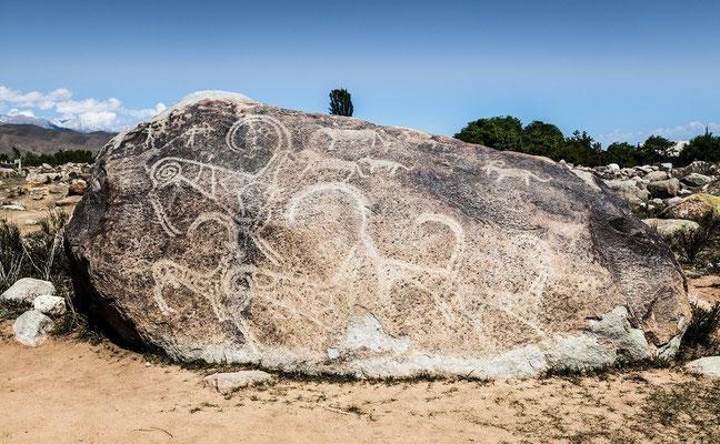 Tscholpon-Ata - Petroglyph Historical Museum # 01