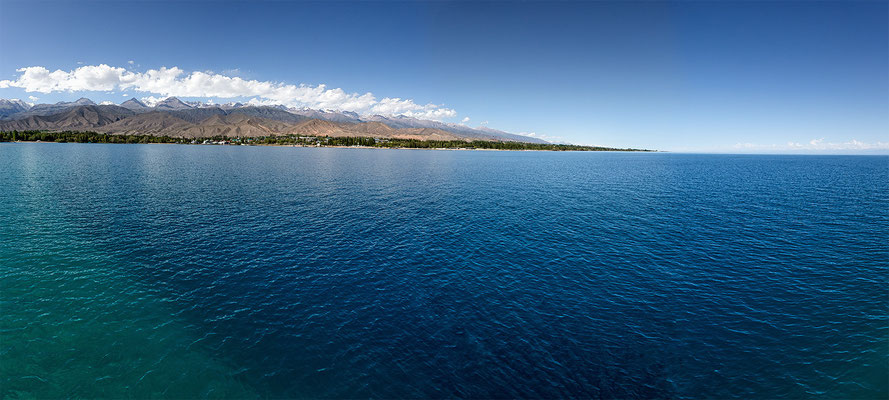 Issyk-Kul Lake - Tien-Shan Mountain range # 03