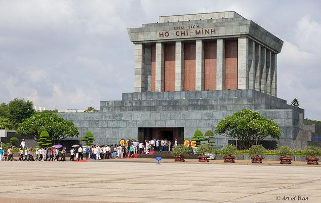 Hanoi - Ho Chi Minh Mausoleum # 23