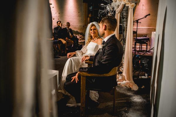 Hochzeit in der Giesserei Zürich
