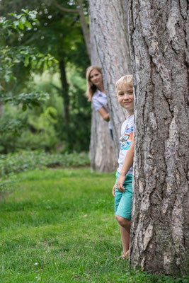 Kinderportraits und Familienaufnahmen