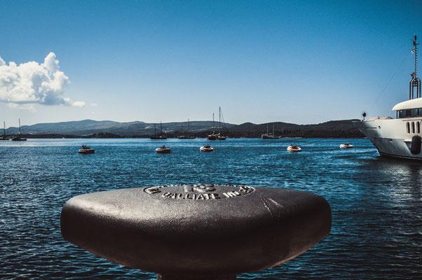 Abstrakte Fotografie am Hafen