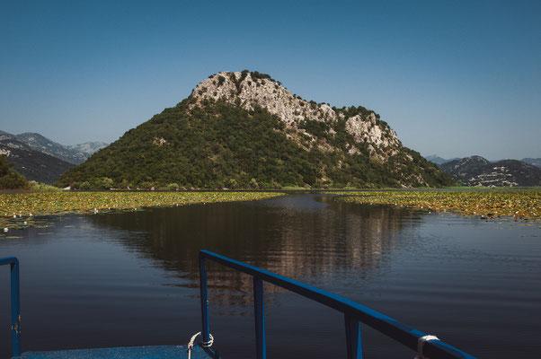 Die Schönheit des Nationalparks am Skadarsee vom Boot aus genießen