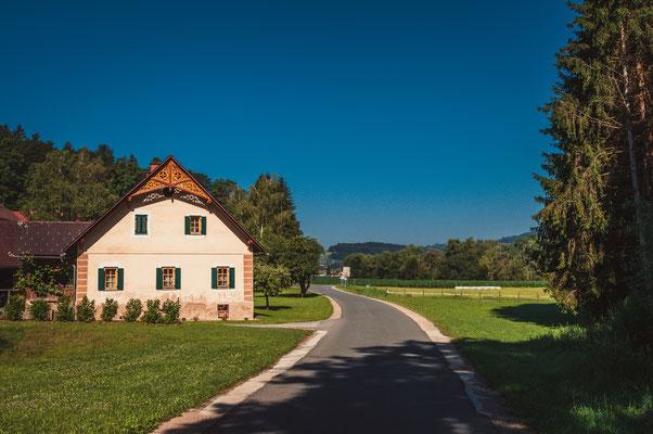 Typisch österreichisches Landhaus bei Voitsberg
