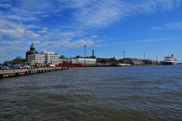 Die Promenade von Helsinki