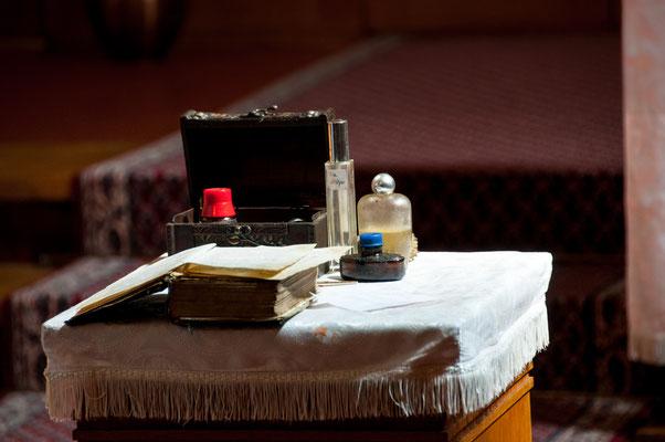 Taufe Utensilien