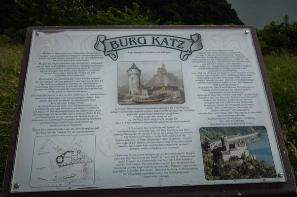 1896 wurde Burg Katz von dem damaligen Landrat Berg erworben und von ihm unter Anlehnung an den alten Zustand als Wohnsitz ausgebaut und genutzt.