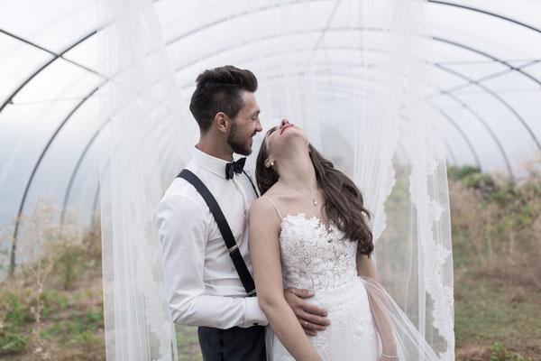 Shooting mit dem Brautpaar