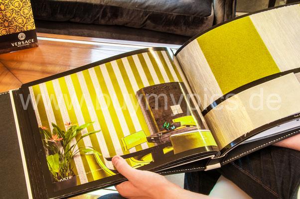 Exklusive Marken Tapeten, Katalog mit exklusiven Wandtapeten für Wohnräume oder Gewerberäume