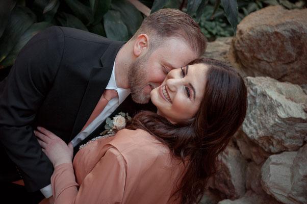 Paaraufnahmen mit Liebe und ganz authentisch